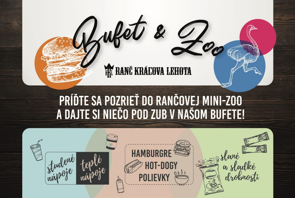 Ranč Kráľova Lehota BUFET & ZOO