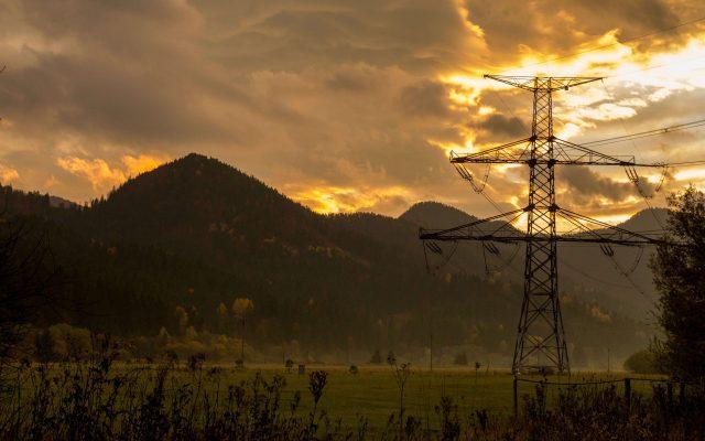 Západ slnka na Ranči