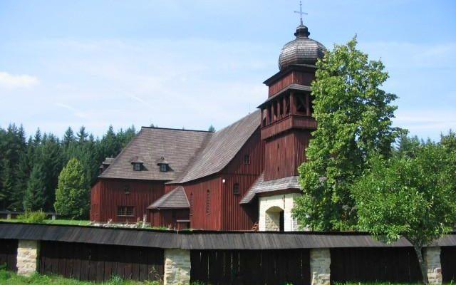 Drevený artikulárny kostol Svätý Kríž