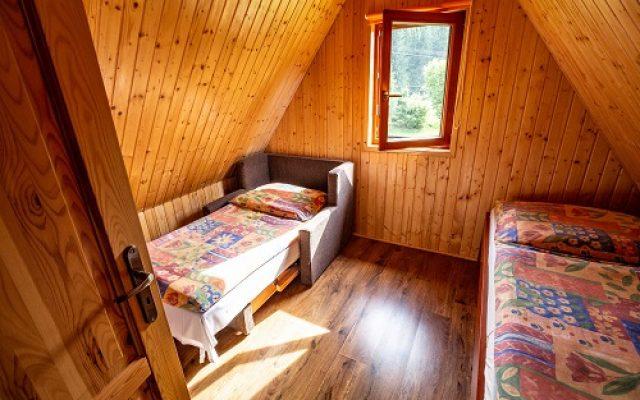 Podkrovná izba na chatke
