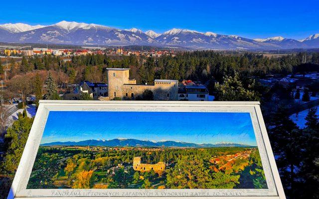 Zrúcanina hradu a kaštiel Liptovský Hrádok 2020-05-18 o 15.13.31